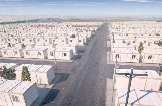 Ժամանակավոր Ճամբարներ Փախստականների Համար