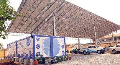 Կարմոդի նոր սերնդի կոնտեյները այլևս պատասխանատու են Նիգերիայում արևային էներգիայի պահեստավորման համար։