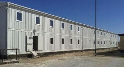 Հավաքովի խցիկ տնակներ Կարմոդի կողմից Կասպյան Նավթի և Գազի Հետազոտման նախագծի տարածքում աշխատողների համար