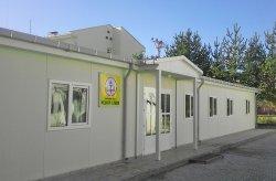 Կարմոդի արտադրանքով կառուցված հավաքովի ավագ դպրոց
