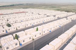 Բնակելի Կոնտեյներներ Փախստականների Ճամբարում